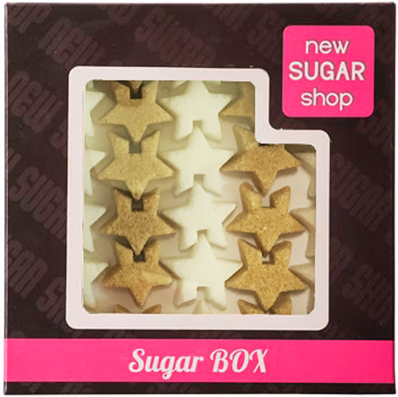 Sugar Box Звездочки фигурный сахар, 210 г футболка print bar sugar box