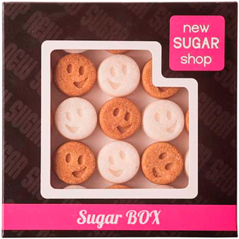 Sugar Box Смайлики фигурный сахар, 260 г sugar box короны фигурный сахар 230 г