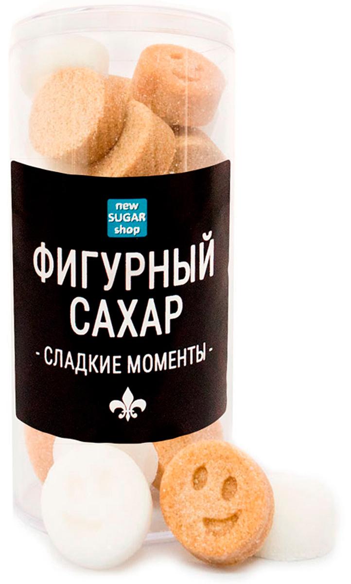 Сладкие моменты Смайлики фигурный сахар в тубе, 160 г sugar box короны фигурный сахар 230 г