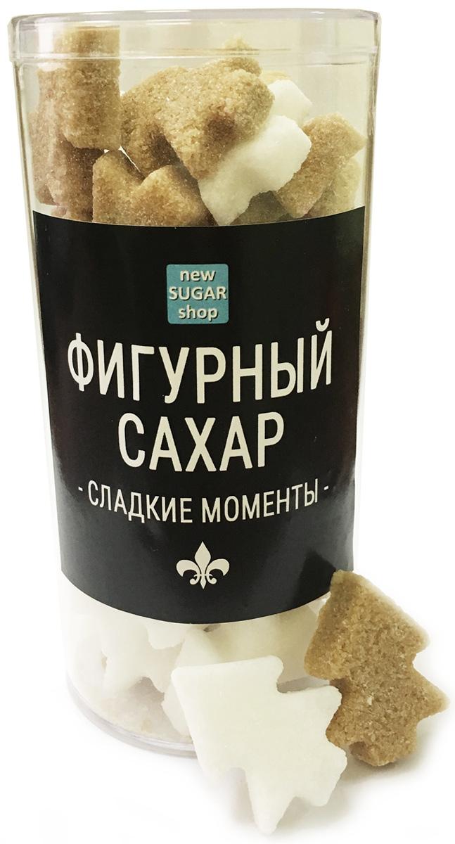 Сладкие моменты Елочки фигурный сахар в тубе, 120 г sugar box короны фигурный сахар 230 г