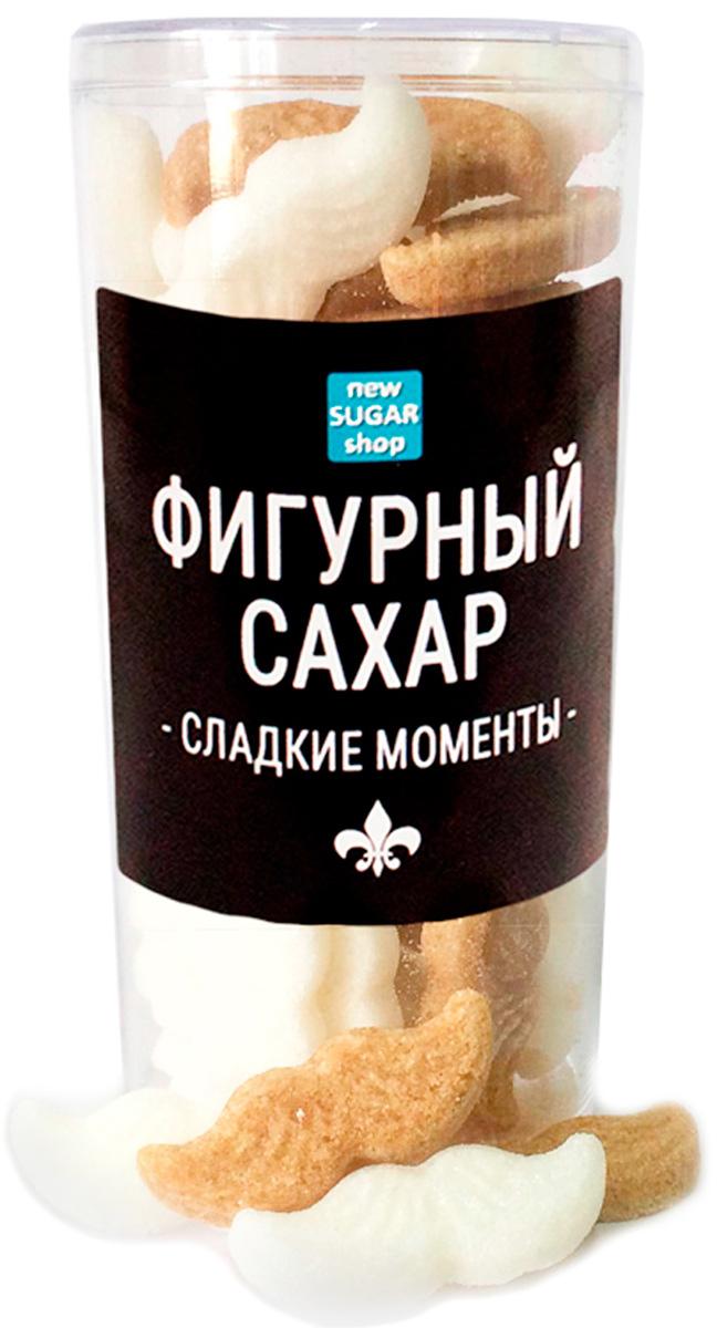 Сладкие моменты Усы фигурный сахар в тубе, 120 г sugar box короны фигурный сахар 230 г