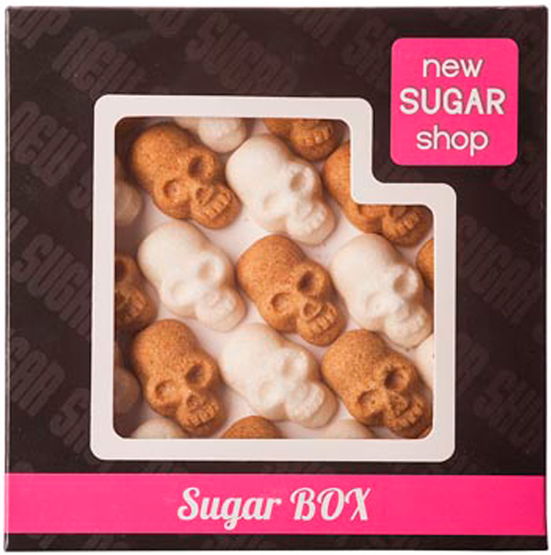 Sugar Box Черепа фигурный сахар, 250 г футболка print bar sugar box