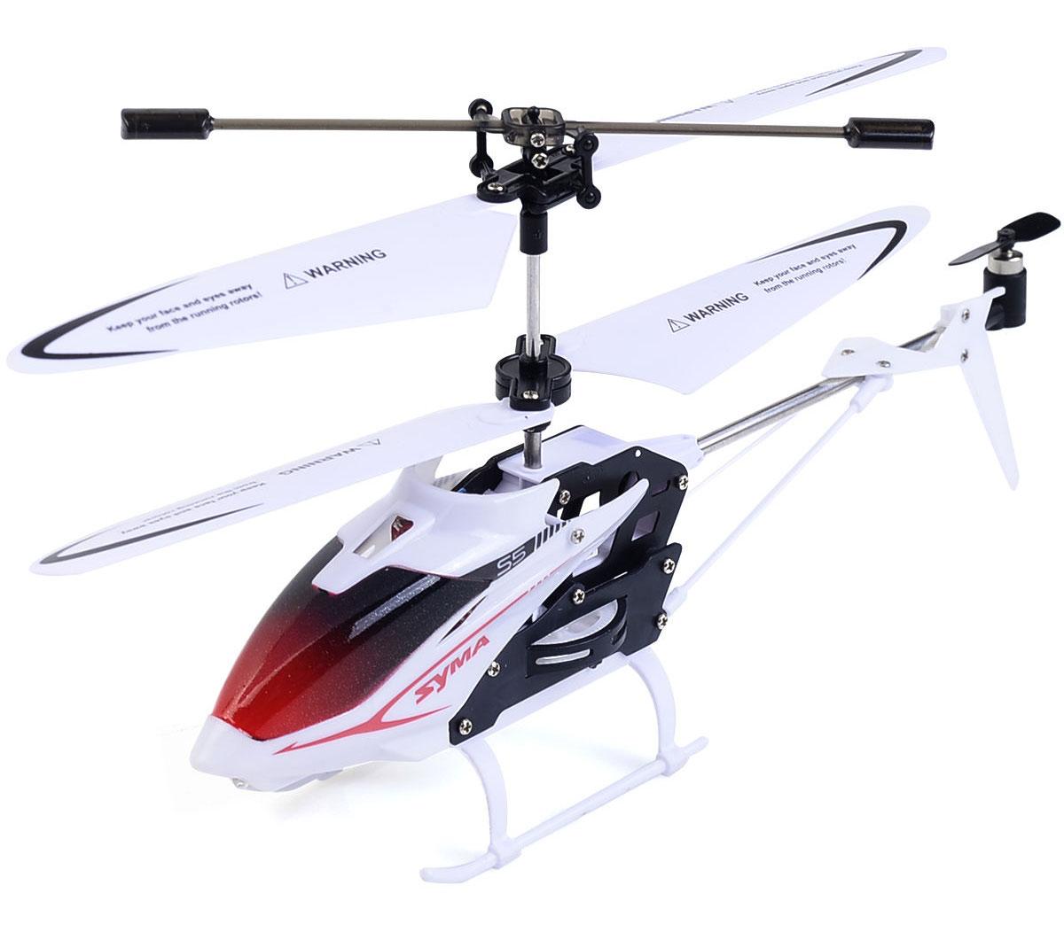 Syma Вертолет на радиоуправлении S5 цвет белый