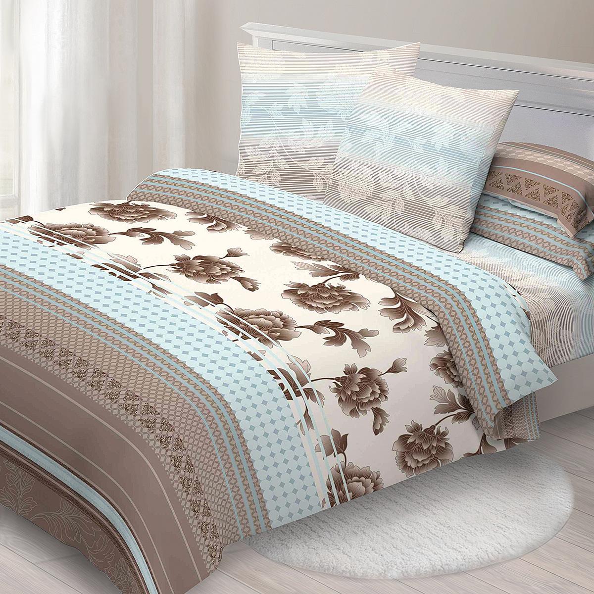 Комплект белья Спал Спалыч Агат, 2-спальное, наволочки 70x70, цвет: голубой88094Спал Спалыч - недорогое, но качественное постельное белье из белорусской бязи. Актуальные дизайны, авторская упаковка в сочетании с качественными материалами и приемлемой ценой - залог успеха Спал Спалыча!В ассортименте широкая линейка домашнего текстиля для всей семьи - современные дизайны современному покупателю! Ткань обработана по технологии PERFECT WAY - благодаря чему, она становится более гладкой и шелковистой.• Бязь Барановичи 100% хлопок• Плотность ткани - 125 гр/кв.м.