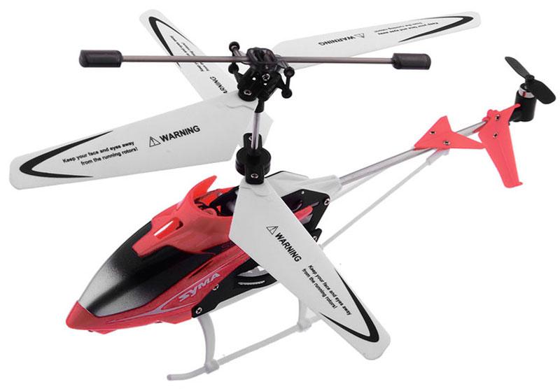 Syma Вертолет на радиоуправлении S5 цвет красный - Радиоуправляемые игрушки