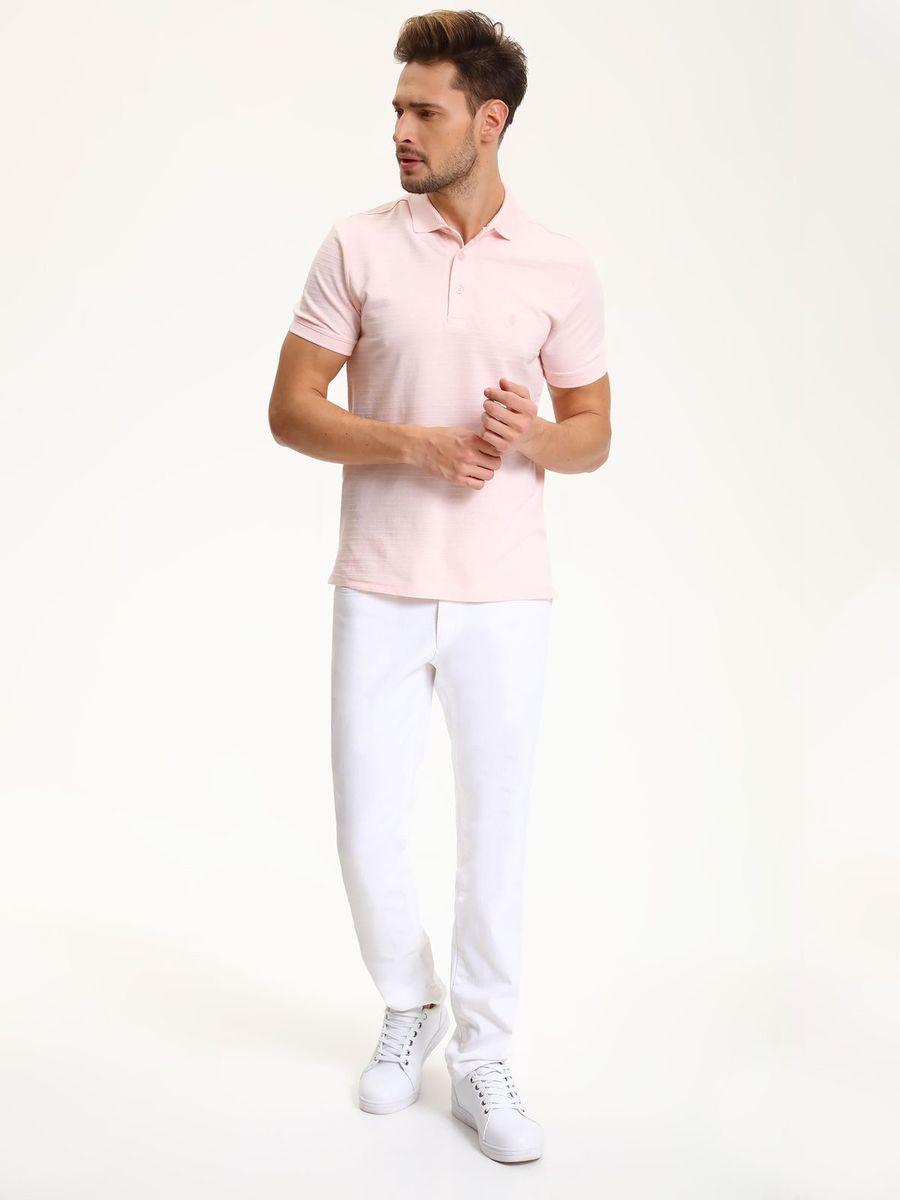 Поло мужское Top Secret, цвет: светло-розовый. SKP0396RO. Размер XL (50) casual graphic racerback tank top