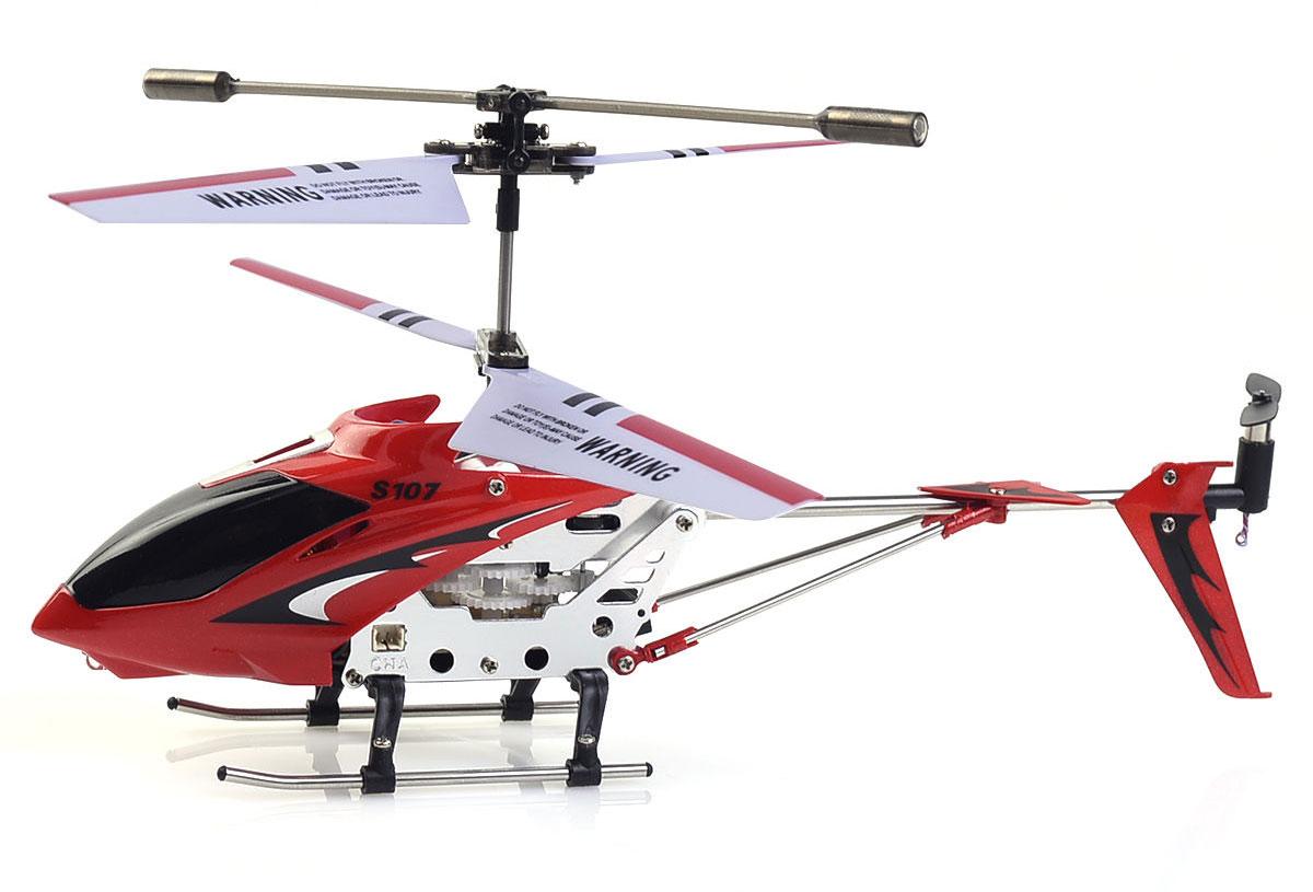 Syma Вертолет на радиоуправлении S107G цвет красный syma s5 вертолет