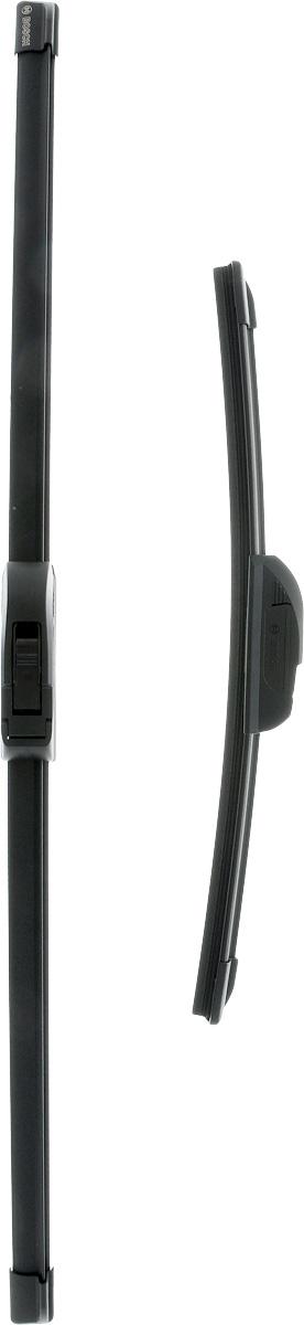 Щетки стеклоочистителя Bosch Aerotwin AR605S, бескаркасные, 600 мм/340 мм, 2 шт щетки стеклоочистителя bosch aerotwin ar701s бескаркасные 650 мм 500 мм 2 шт