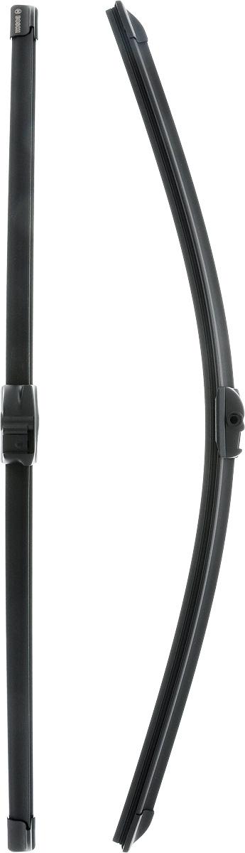 Щетки стеклоочистителя Bosch Aerotwin A053S, бескаркасные, 600 мм, 2 шт щетки стеклоочистителя bosch aerotwin ar701s бескаркасные 650 мм 500 мм 2 шт