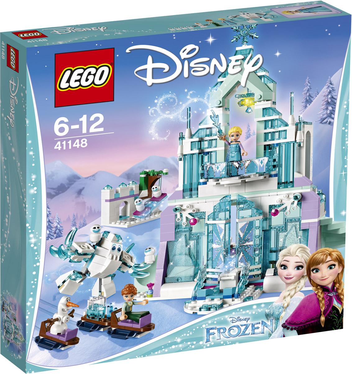 LEGO Disney Princess Конструктор Волшебный ледяной замок Эльзы 41148 конструктор lego disney princess 41154 волшебный замок золушки