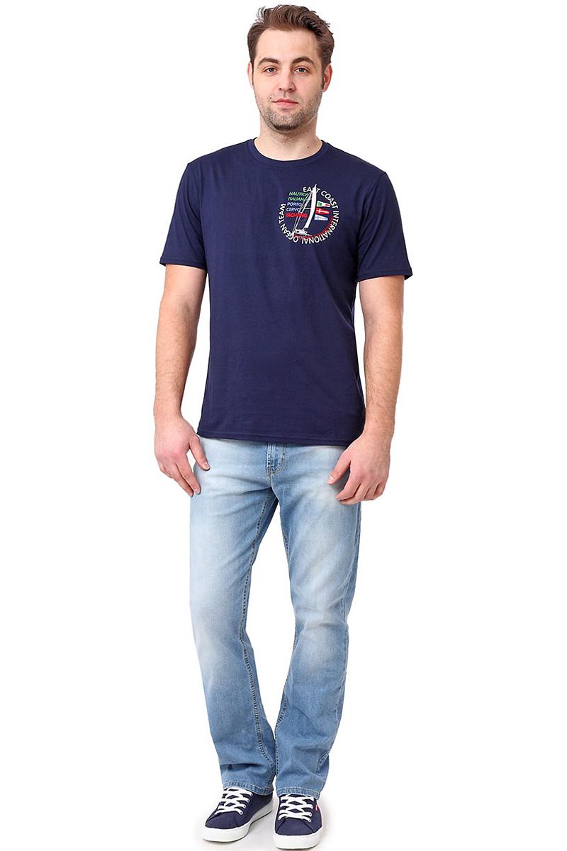 Футболка мужская F5, цвет: синий. 14501_02285. Размер XL (52) футболка мужская f5 цвет синий 170092 02370 f5 размер m 48