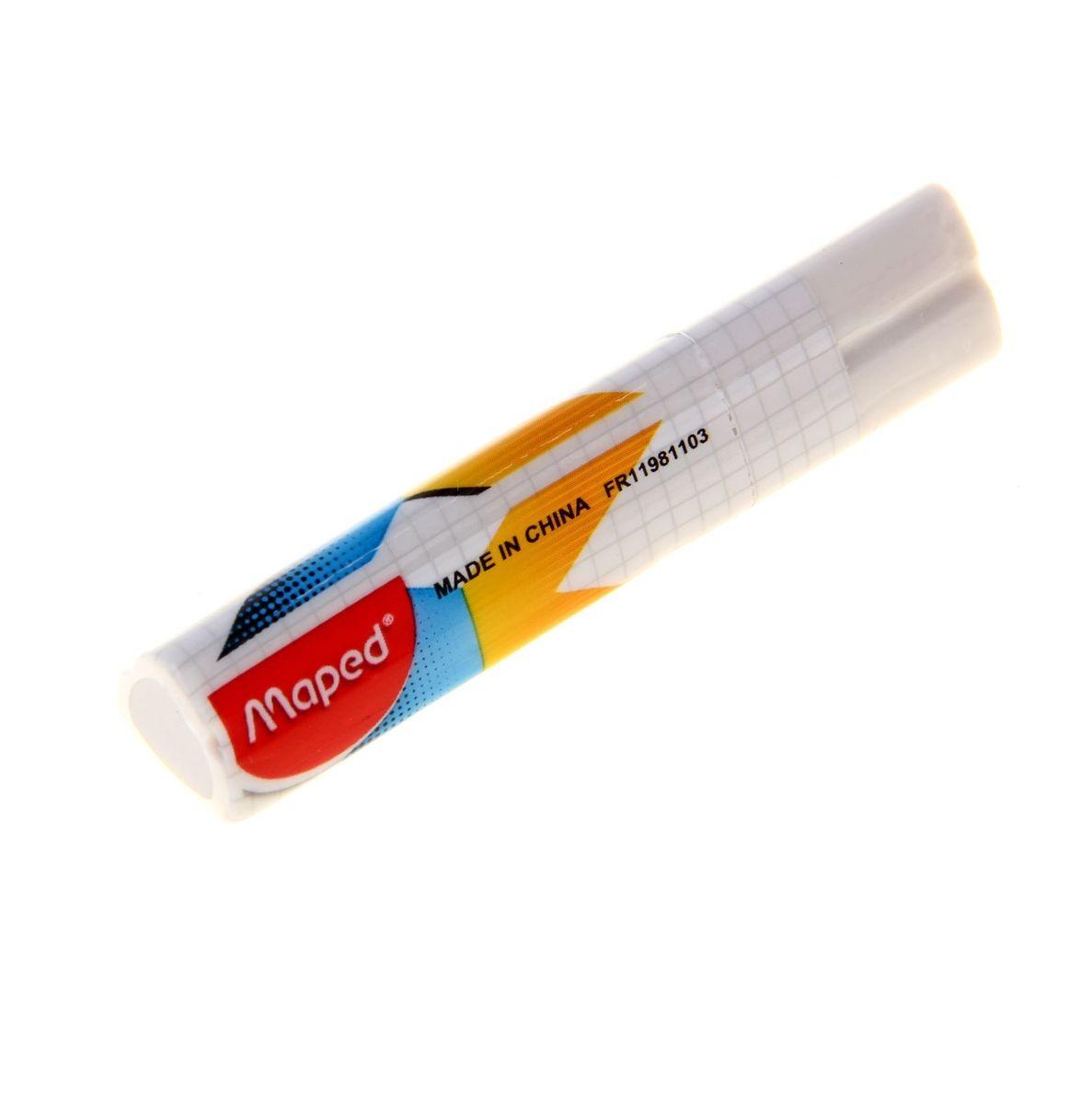 Maped Ластик Stick X-Pert1082629Ластик Maped Stick X-Pert изготовлен из синтетики. Имеет эргономичную трехгранную форму. Ластик легко и без следов удаляет с бумаги надписи, сделанные карандашом любой твердости.