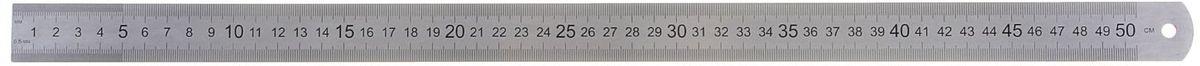 ТПК Пчелка Линейка 50 см1092896Линейка — необходимый инструмент рабочего стола.Пружинистая линейка ТПК Пчелка выполнена из нержавеющей стали. Она может понадобиться при изучении любого школьного предмета. Провести прямую линию и начертить отрезок на уроке математики? Легко! Подчеркнуть подлежащее, сказуемое или деепричастный оборот в домашнем задании по русскому языку? Проще простого!Возможности применения этого приспособления широки: оно пригодится как на занятиях в учебном заведении, так и при выполнении работы дома, а также поспособствует развитию начальных навыков черчения!