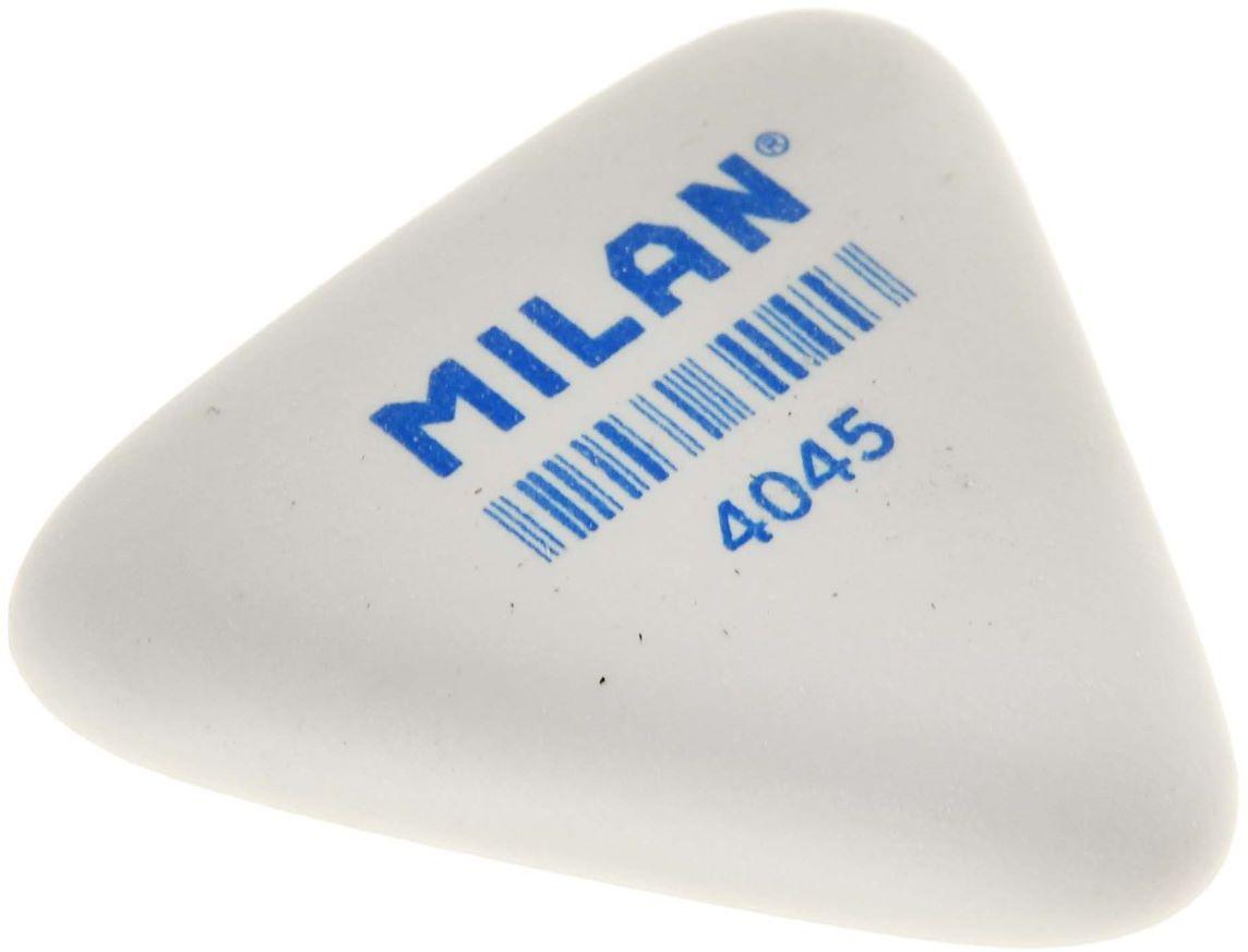 Milan Ластик 40451158804Мягкий синтетический каучуковый ластик. Подходит для удаления штрихов от большинства графитовых карандашей на всех видах поверхностей.