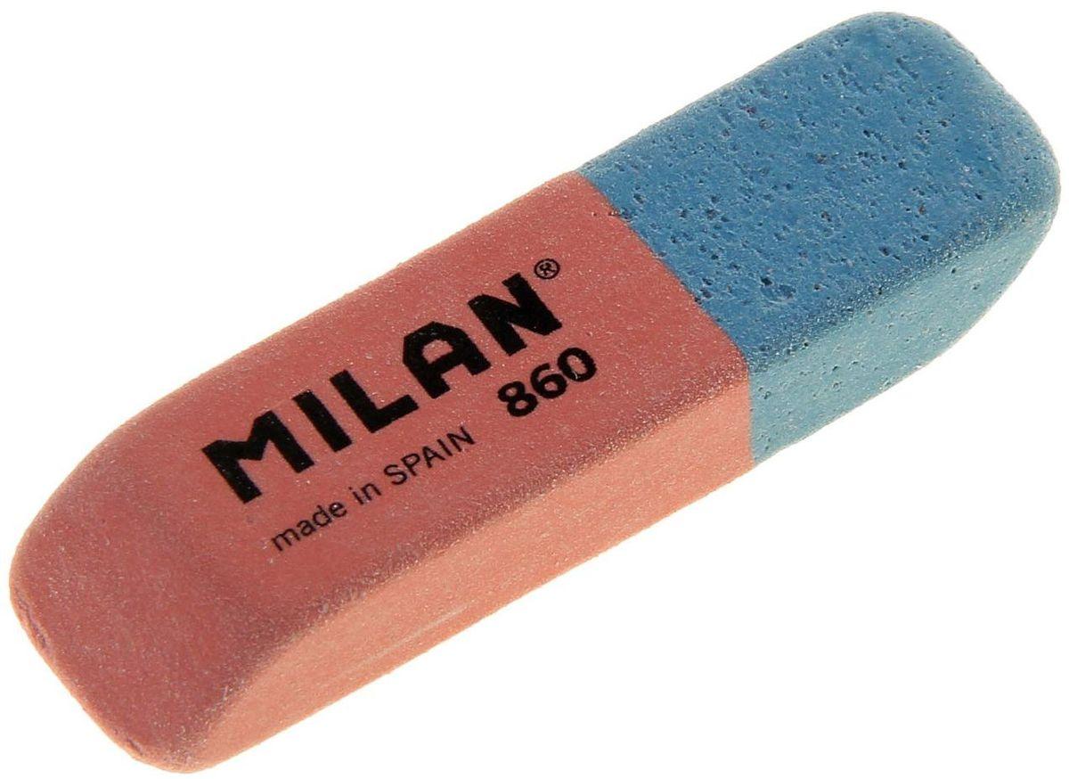 Milan Ластик 860 скошенный1158808Ластик Milan 860 из натурального каучука подходит для удаления штрихов от большинства графитовых карандашей на всех видах поверхностей.