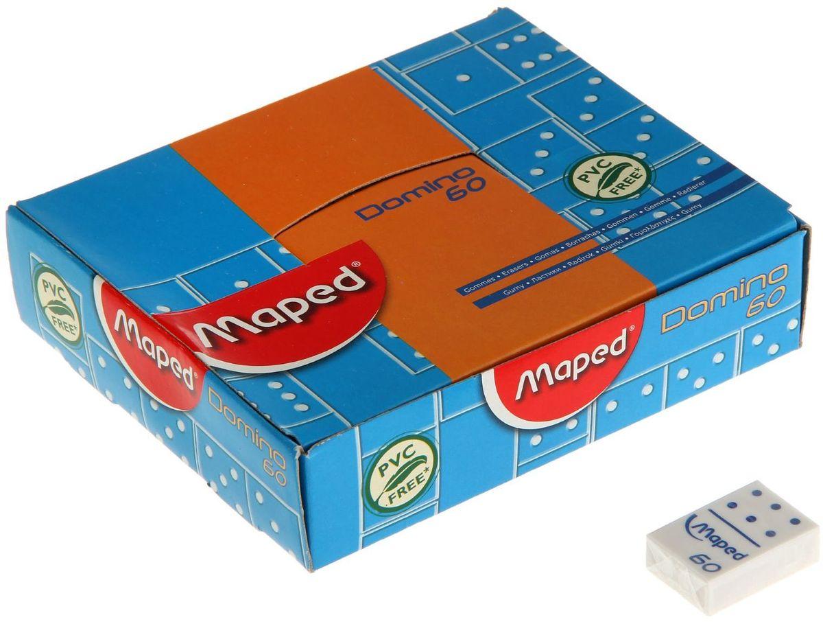 Maped Ластик Domino мини1182305Ластик — канцелярская принадлежность, предназначенная для удаления карандашных (иногда чернильных) надписей с бумаги и других поверхностей.Он обладает важными качествами, которые помогают ему убирать следы пишущего предмета с бумаги. Материал, из которого выполнен ластик, - крошащийся, что является необходимым условием отделения маленьких частичек ластика во время процесса стирания и постоянного обновления поверхности. Ластик отличается абразивными (шлифующими) свойствами, которые необходимы для удаления остаточных следов карандаша с бумажной поверхности.Такое канцелярское изделие станет отличным помощником для детей и взрослых в любых ситуациях: в школе, на работе или дома!