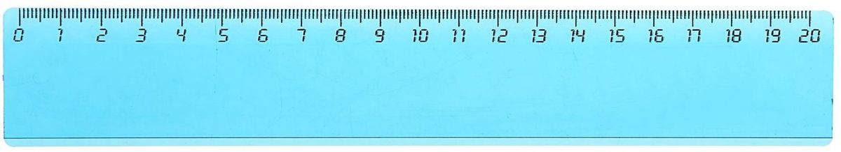 Стамм Линейка 20 см цвет голубой1382707Линейка — необходимый инструмент рабочего стола.Линейка 20 см, широкая без логотипа, тонированная, голубая может понадобиться при изучении любого школьного предмета. Провести прямую линию и начертить отрезок на уроке математики? Легко! Подчеркнуть подлежащее, сказуемое или деепричастный оборот в домашнем задании по русскому языку? Проще простого!Возможности применения этого приспособления широки: оно пригодится как на занятиях в учебном заведении, так и при выполнении работы дома, а также поспособствует развитию начальных навыков черчения!
