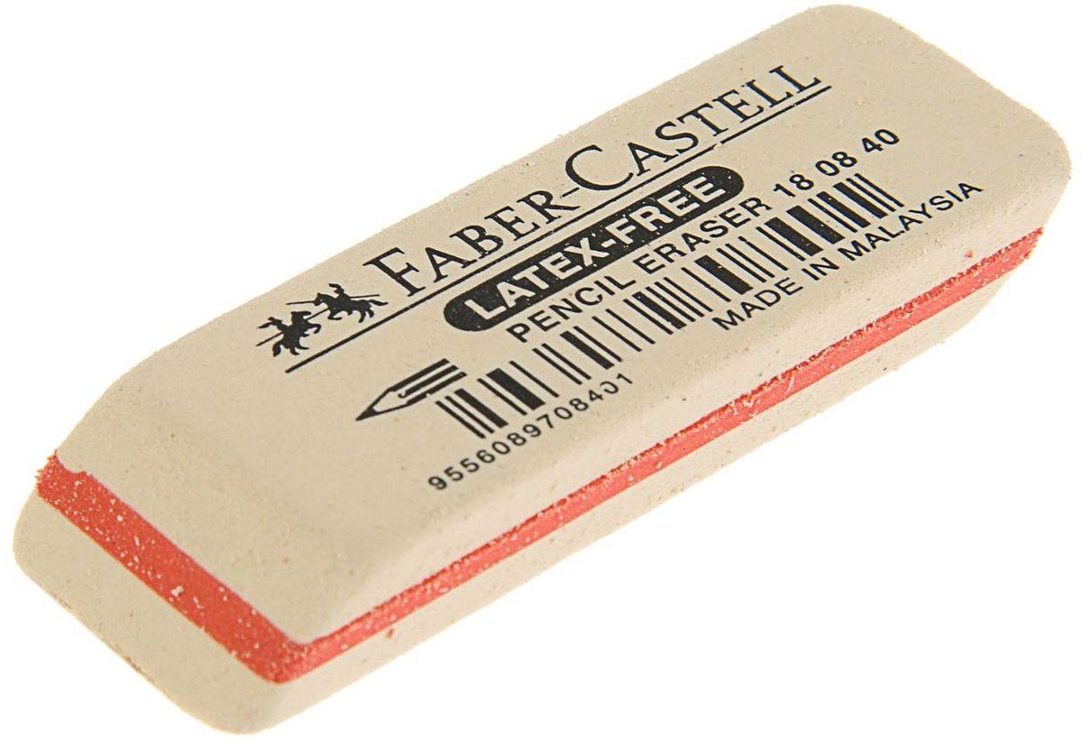 Faber-Castell Ластик цвет белый1986271Ластик Faber-Castell выполнен из каучука и имеет прямоугольную Форму. Предназначен для эффективного стирания графитных карандашей различной твердости. Ластик обеспечивает высокое качество коррекции и не повреждает поверхность бумаги.
