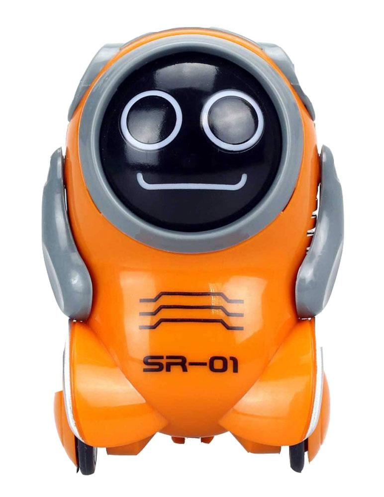 Silverlit Интерактивный робот Покибот SR-01 цвет оранжевый