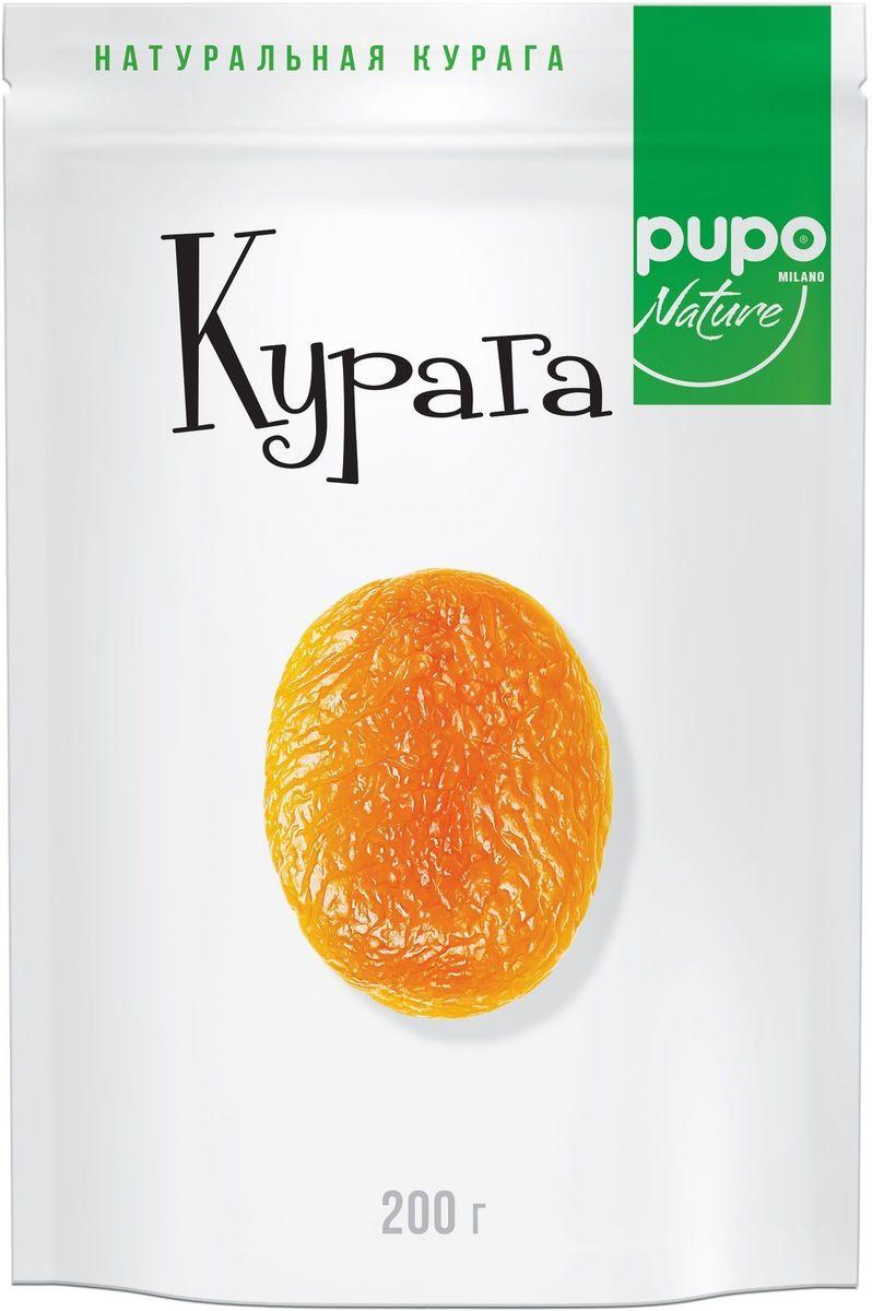 Pupo Курага фрукты сушеные, 200 г pupo конфеты киви в глазури 200 г