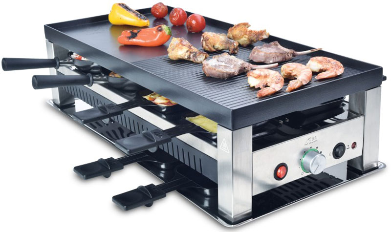 Solis Table Grill 5 in 1 раклетница раклетница solis table grill 4 in 1