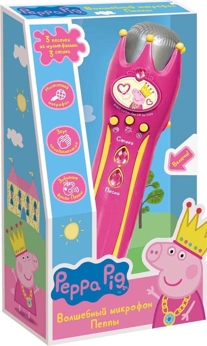 Peppa Pig Волшебный микрофон Пеппы - Музыкальные инструменты