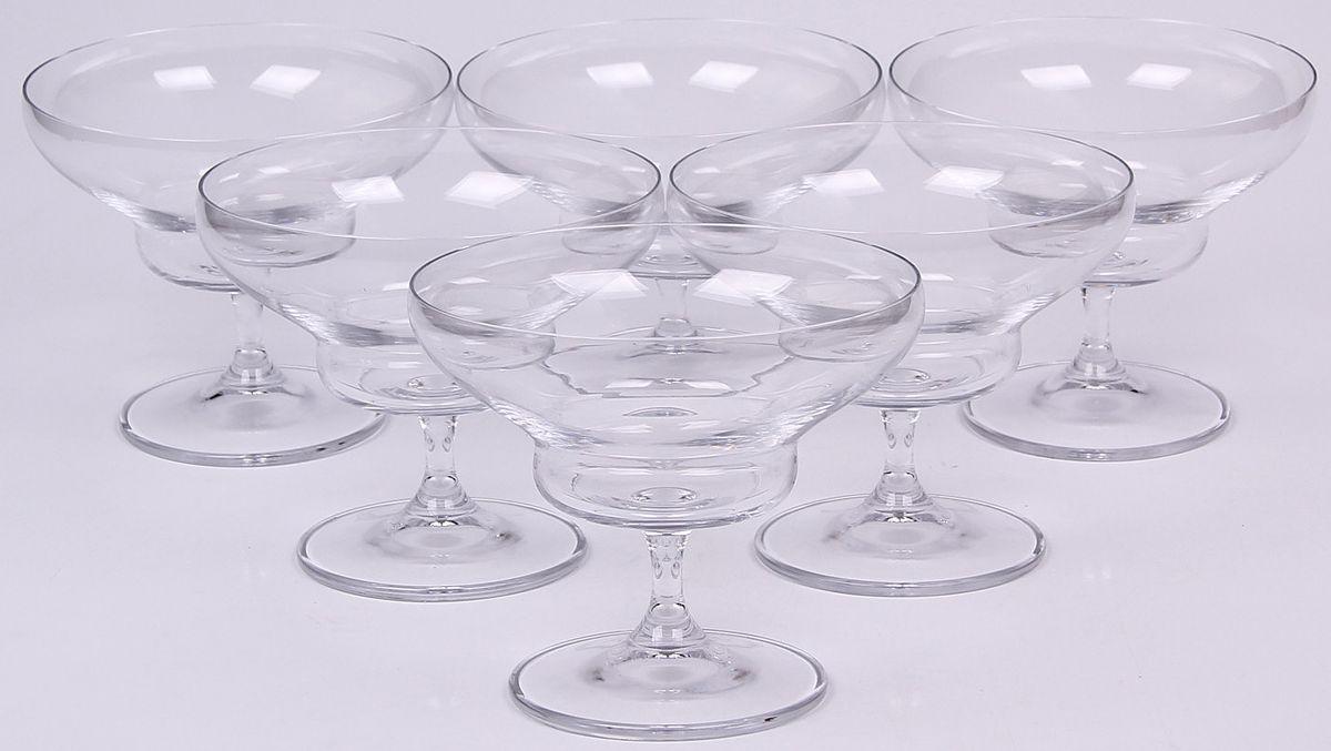 Набор креманок Banquet Crystal, 370 мл, 6 шт. 02B2G00337002B2G003370Набор Banquet Crystal состоит из шести креманок, выполненных из стекла. Изделия оснащены ножками. Креманки сочетают в себе элегантный дизайн и функциональность. Объем: 370 мл.
