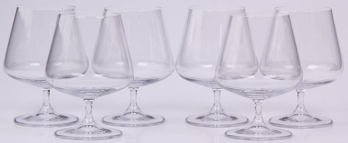 Набор бокалов для бренди Banquet Crystal, 560 мл, 6 шт. 02B2G00356002B2G003560Набор Banquet Crystal состоит из шести бокалов, выполненных из стекла. Изделия оснащены ножками. Бокалы сочетают в себе элегантный дизайн и функциональность. Благодаря такому набору пить напитки будет еще вкуснее.