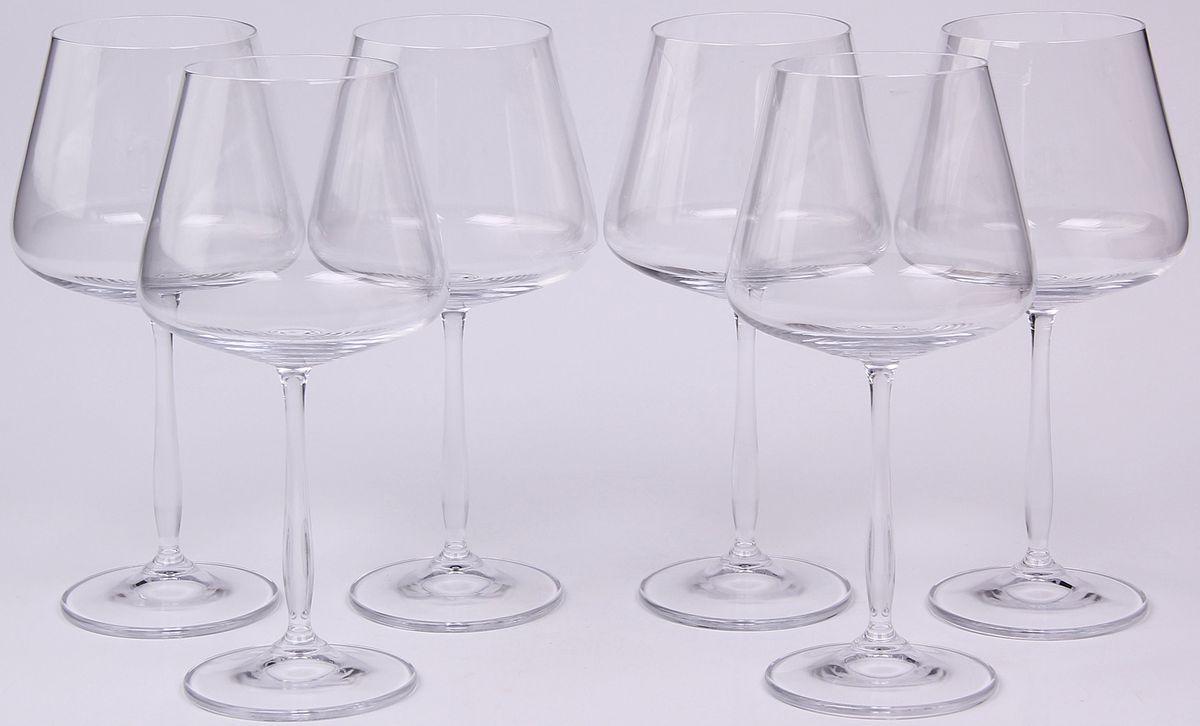 Набор бокалов для вина Banquet Crystal, 570 мл, 6 шт. 02B2G00357002B2G003570