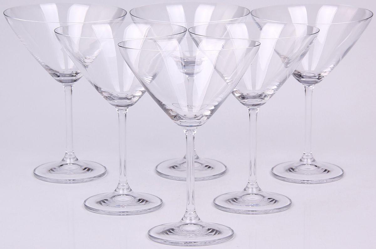 Набор бокалов для мартини Banquet Crystal, 280 мл, 6 шт. 02B4G00128002B4G001280