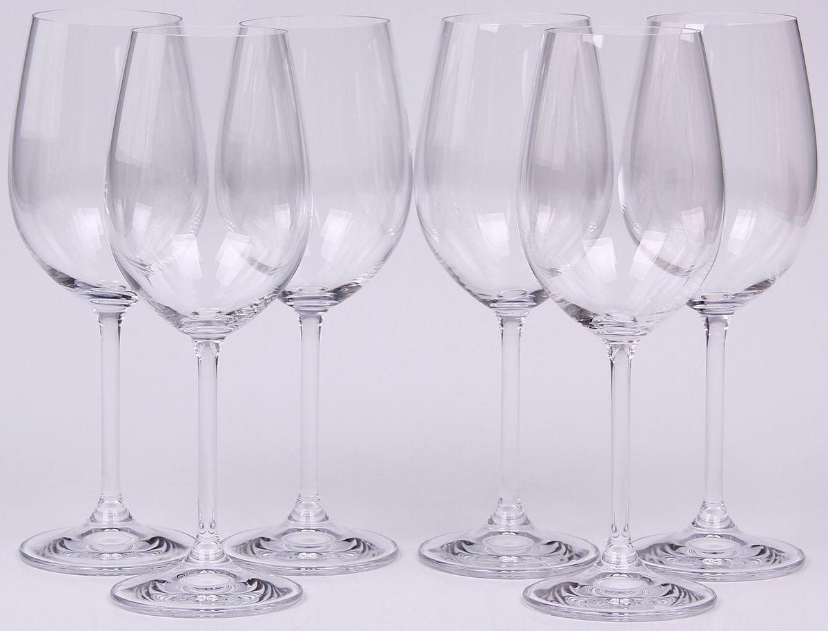 Набор бокалов для вина Banquet Crystal, 350 мл, 6 шт. 02B4G00135002B4G001350