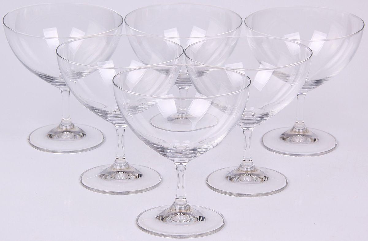 Набор креманок Banquet Crystal, 360 мл, 6 шт. 02B4G00136002B4G001360Набор Banquet Crystal состоит из шести креманок, выполненных из стекла. Изделия оснащены ножками. Креманки сочетают в себе элегантный дизайн и функциональность. Объем: 360 мл.