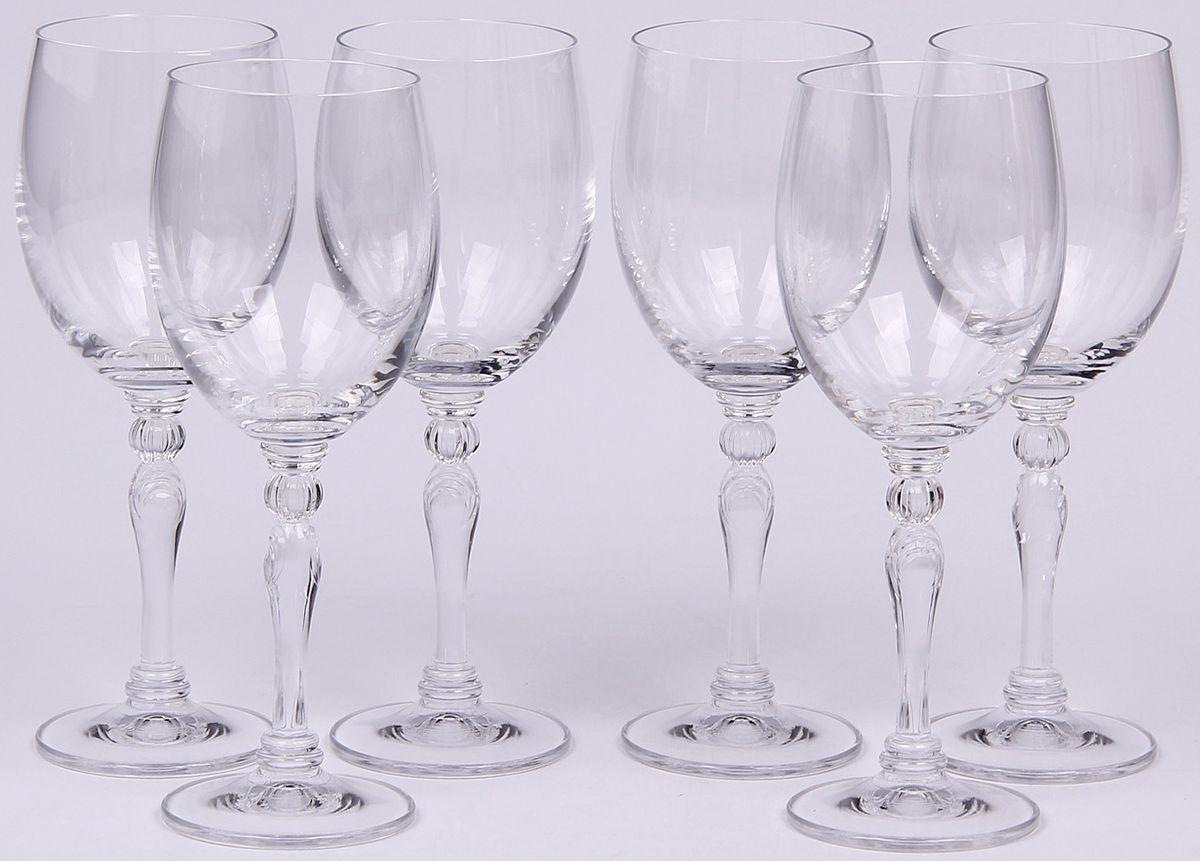 Набор бокалов для вина Banquet Crystal, 200 мл, 6 шт. 02B4G00520002B4G005200Набор Banquet Crystal состоит из шести бокалов для вина, выполненных из стекла. Изделия оснащены ножками. Бокалы сочетают в себе элегантный дизайн и функциональность. Благодаря такому набору пить напитки будет еще вкуснее.