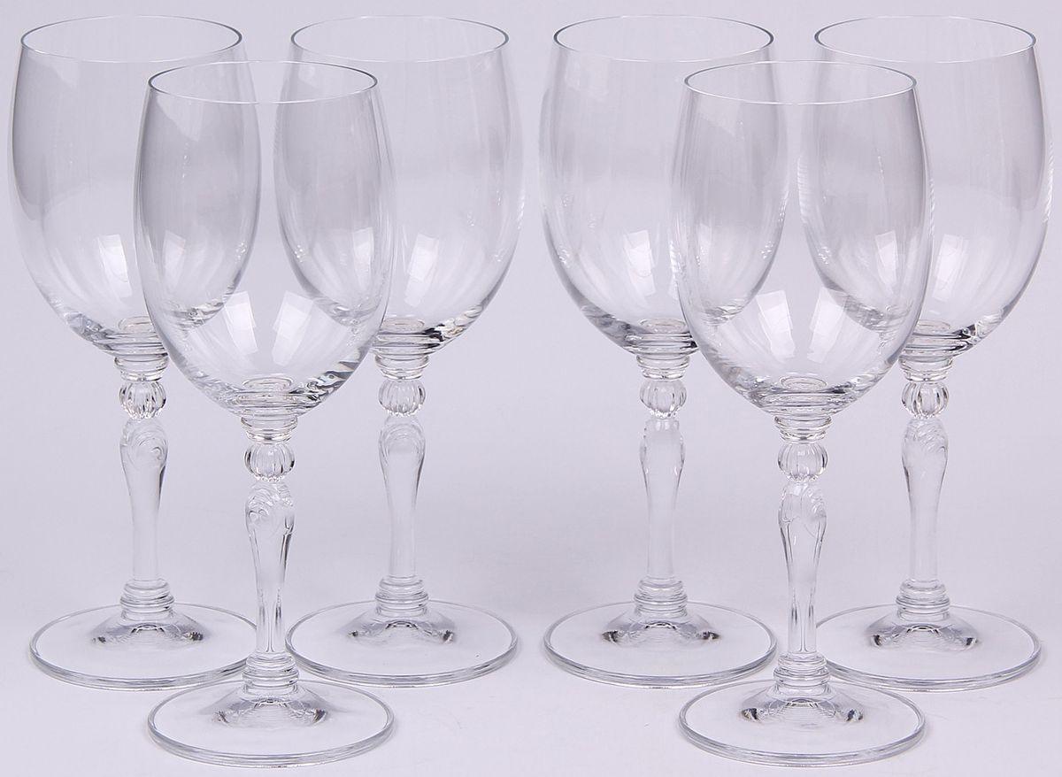 Набор бокалов для вина Banquet Crystal, 250 мл, 6 шт. 02B4G00525002B4G005250Набор Banquet Crystal состоит из шести бокалов для вина, выполненных из стекла. Изделия оснащены ножками. Бокалы сочетают в себе элегантный дизайн и функциональность. Благодаря такому набору пить напитки будет еще вкуснее.
