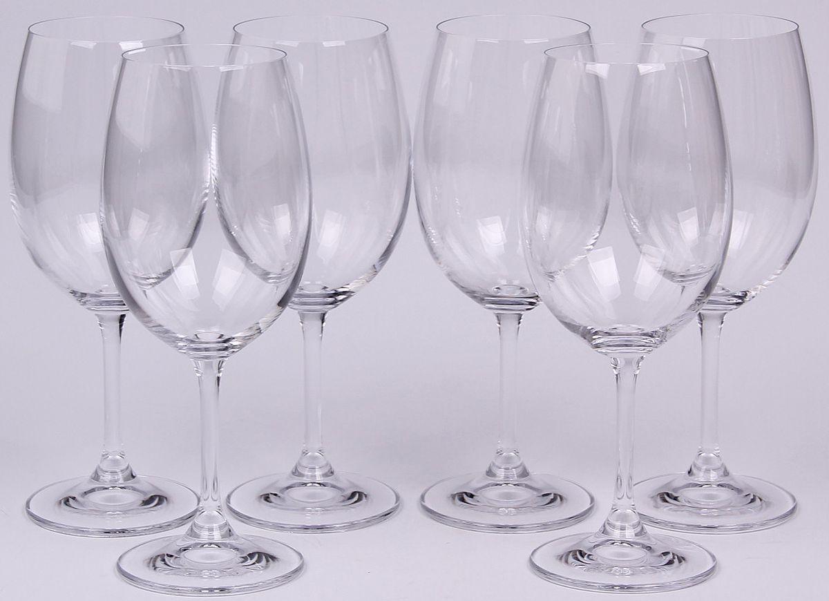 Набор бокалов для вина Banquet Crystal, 340 мл, 6 шт. 02B4G00634002B4G006340Набор Banquet Crystal состоит из шести бокалов для вина, выполненных из стекла. Изделия оснащены ножками. Бокалы сочетают в себе элегантный дизайн и функциональность. Благодаря такому набору пить напитки будет еще вкуснее.