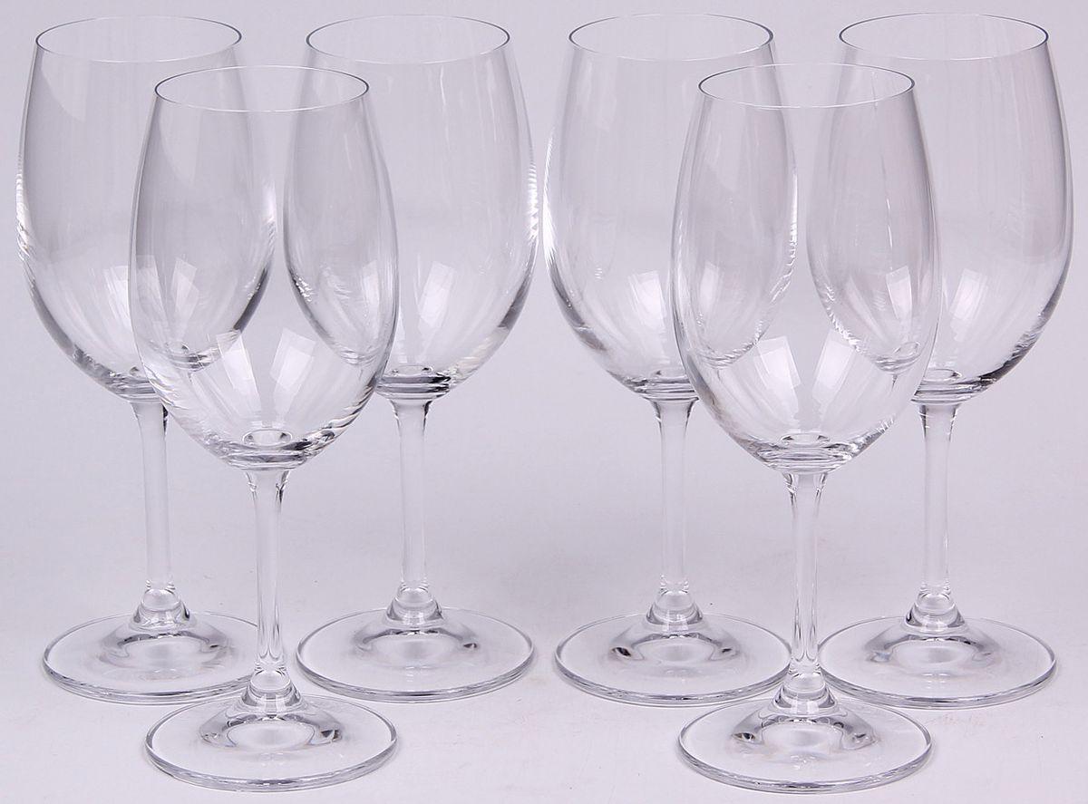 Набор бокалов для вина Banquet Crystal, 430 мл, 6 шт. 02B4G00643002B4G006430Набор Banquet Crystal состоит из шести бокалов для вина, выполненных из стекла. Изделия оснащены ножками. Бокалы сочетают в себе элегантный дизайн и функциональность. Благодаря такому набору пить напитки будет еще вкуснее.