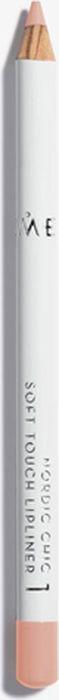 Lumene Nordic Chic Мягкий карандаш для губ №01 карандаш для губ lumene nordic chic soft touch lipliner 1 цвет 1 variant hex name e99f8f