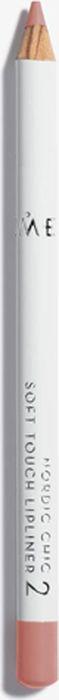 Lumene Nordic Chic Мягкий карандаш для губ №02NL073-85872Мягкий карандаш для губ отлично подойдет для создания четкого и насыщенного контура или в виде праймера. Карандаш надежно фиксирует губную помаду в течение всего дня.