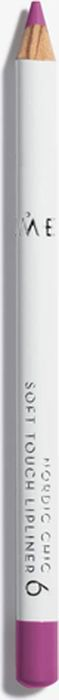 Lumene Nordic Chic Мягкий карандаш для губ №06 карандаш для губ lumene nordic chic soft touch lipliner 4 цвет 4 variant hex name 90444c