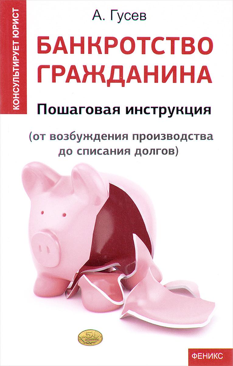 9785222271841 - Антон Гусев: Банкротство гражданина. Пошаговая инструкция. От возбуждения производства до списания долгов - Книга