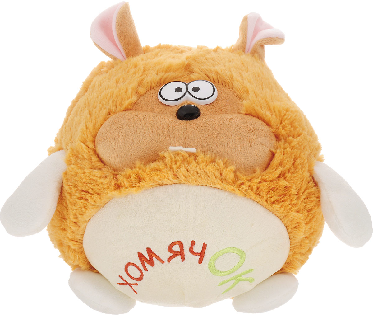 Fancy Мягкая игрушка Хомячок Круглик 18 см