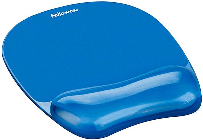 Fellowes FS-91141, Light Blue коврик для мышиFS-91141Коврик для мыши Fellowes FS-91141 с гелевой подкладкой обеспечивает комфортную работу и поддерживает запястье в естественном положении. Нескользящее основание исключает нежелательное движение коврика по поверхности рабочего стола.Легко чистится.