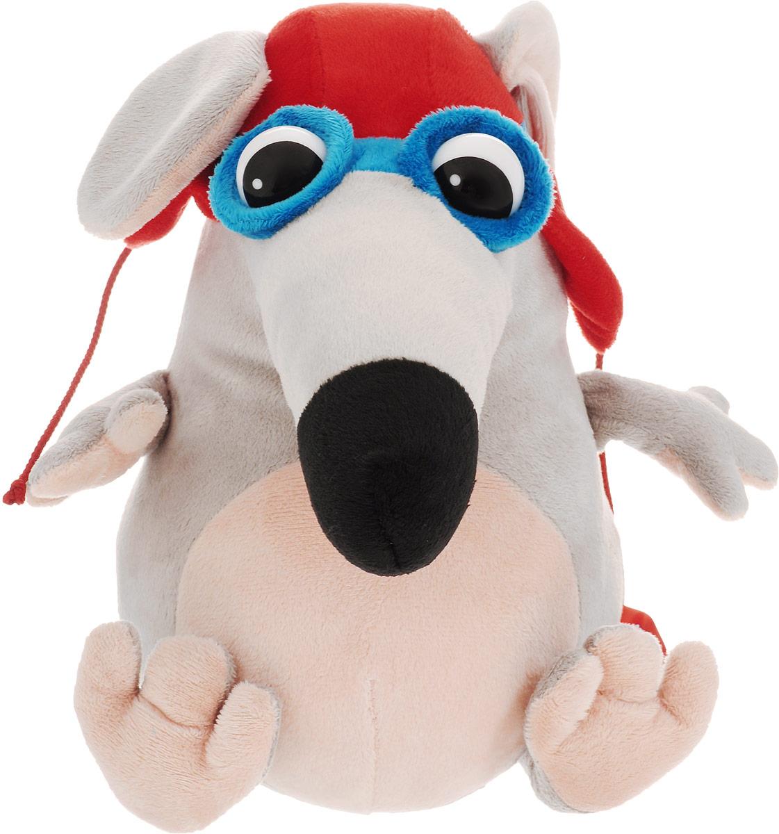 Fancy Мягкая игрушка Мышка Пилот 23 см fancy мягкая игрушка собака сплюшка 70 см 378752