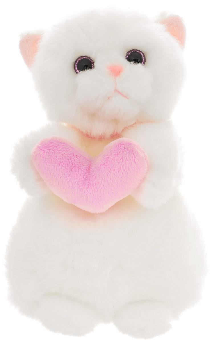 Мягкая игрушка Кошечка Лулу с сердечком, 20 см телевизор bbk 24lem 1026 t2c