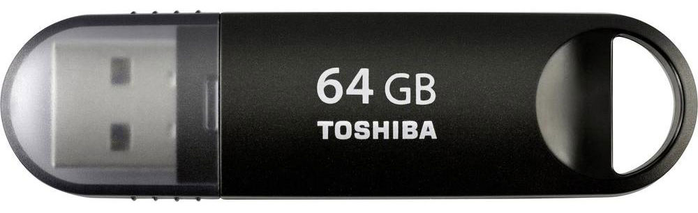 Toshiba Suzaku 64GB, Black флеш-накопитель - Носители информации