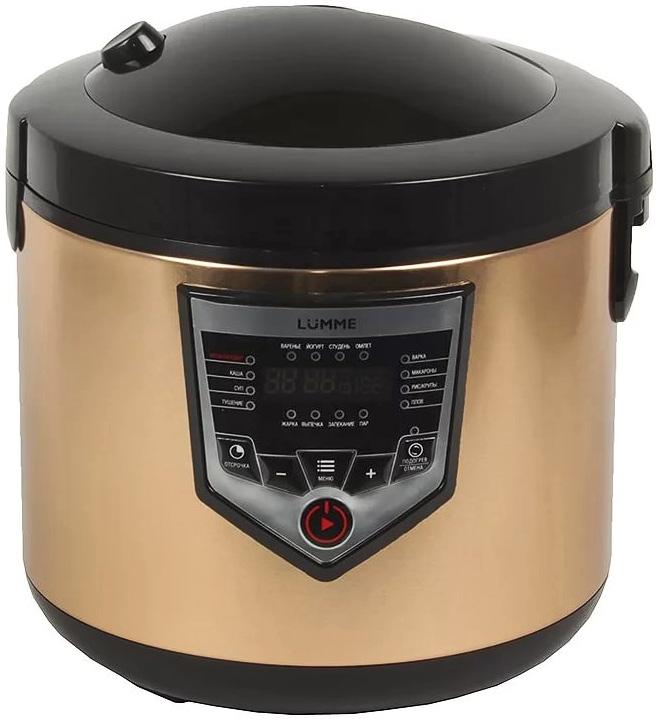 Купить Lumme LU-1446 Chef Pro, Black Gold мультиварка