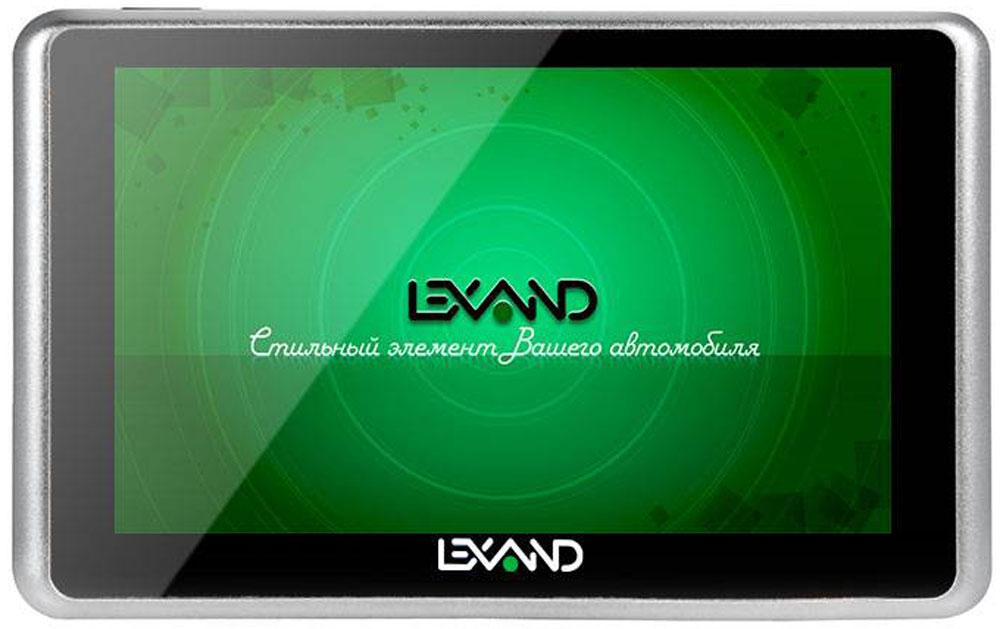 Lexand SB5 HD, Black автомобильный планшет-навигаторSB5 HDLEXAND SB5 HD - автомобильный планшет с 5-ти дюймовым экраном, камерой 2 Мп, Wi-Fi, построенный на двухъядерном процессоре. С помощью предустановленной программы DailyRoads Voyager планшет может выполнять функции видео регистратора. Программа позволяет не только записывать видео во время движения, но и делать фото. Автомобильный планшет работает под управлением ОС Android 4.4. поэтому на него можно установить большинство современных приложений. В память SB5 HD предзагружена лицензия навигационной программы Навител с картами 9 стран (лицензия 2 года). В комплект поставки входит OTG-кабель.Процессор: MediaTek MT8127 (4 ядра) 1,3 ГГцВидеопроцессор: AMD Mali-450 MPОперативная память: 512 МБWi-Fi b/g/nBluetooth 4.0Емкость аккумулятора: 1000 мАч
