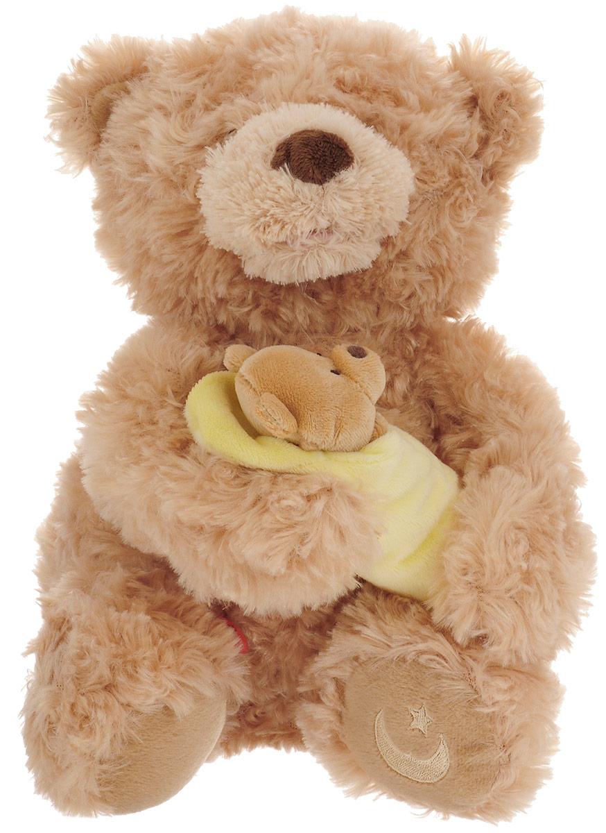Gund Мягкая озвученная игрушка Rock a Bye Baby Bear 25,5 см gund мягкая игрушка arlo bear 18 см