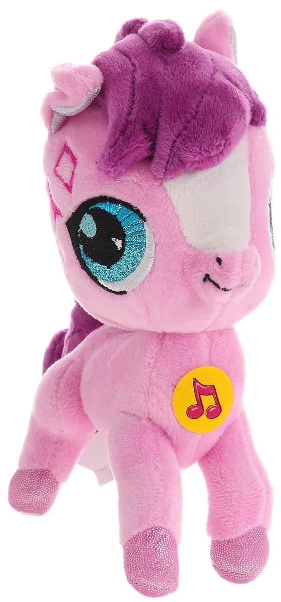 Мульти-Пульти Мягкая игрушка Лошадка Litttlest Pet Shop 16 см мульти пульти мягкая игрушка принцесса луна 18 см со звуком my little pony мульти пульти