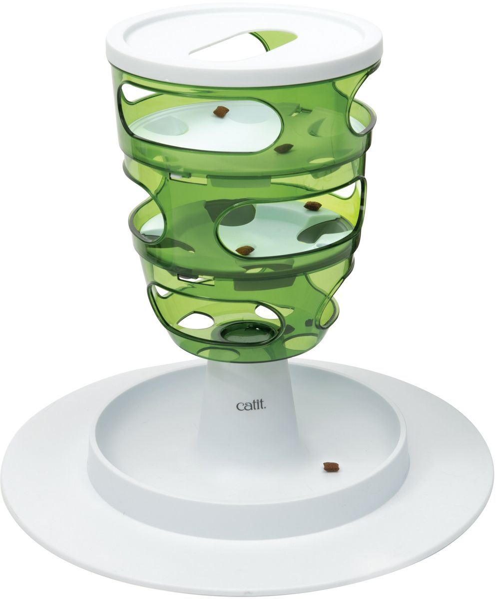 Кормушка-головоломка Hagen Сatit Senses 2.0, для кошек, 30,5 х 35 х 27 см кормушка для рыб hagen